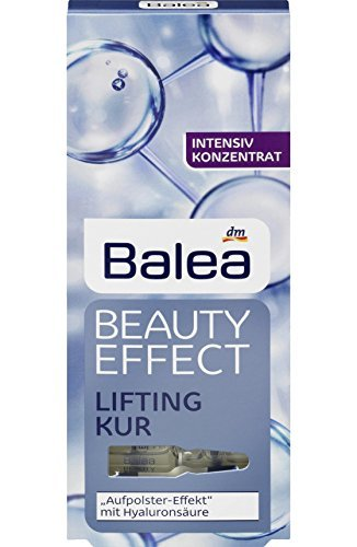 6er Pack Balea Beauty Effect Lifting Treatment Ampoules With Hyaluronic Acid 6 x 7 x 1 ml by Balea