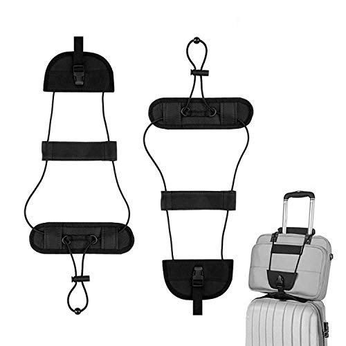 - Lonew Bag Bungee, Luggage Straps Suitcase Adjustable Belt - Lightweight and Durable Travel Bag Accessories (2 Pack)