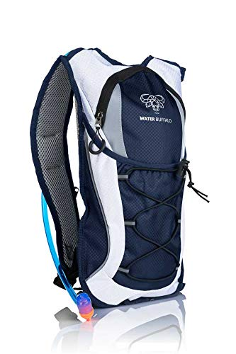 Water Buffalo and BPA Free Reservoir – Light, Hydration Pack with Purpose Built Storage for Running, Cycling,Mountain Biking and More