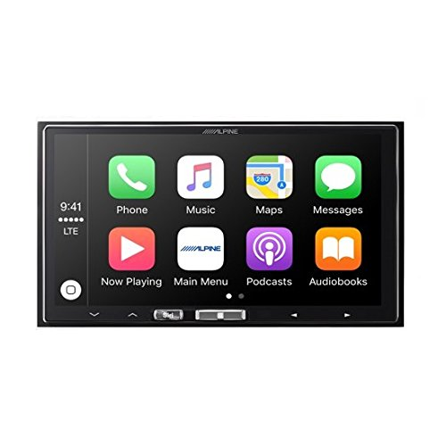 "Alpine ILX-107 7"" Mech-less In-Dash Receiver with Wireless Apple CarPlay"