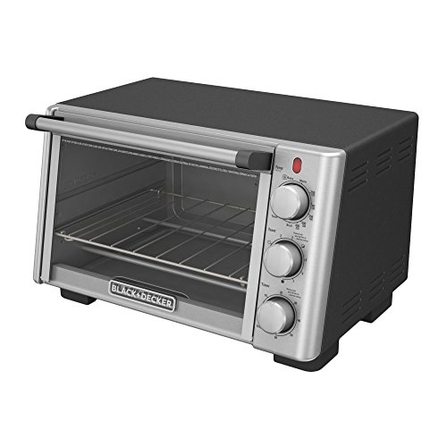 BLACK+DECKER 6-Slice Convection Countertop Toaster Oven, Stainless Steel/Black, TO2050S by BLACK+DECKER (Image #7)'