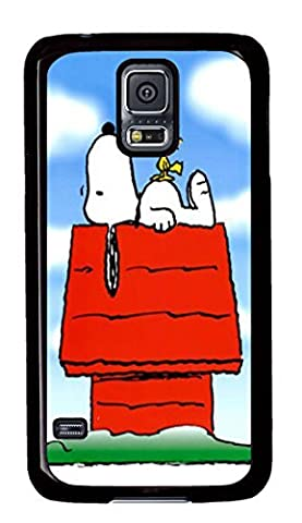 Samsung Galaxy S5 Case and Cover Snoopy and Woodstock HD wallpapers PC case Cover for Samsung Galaxy S5 Black