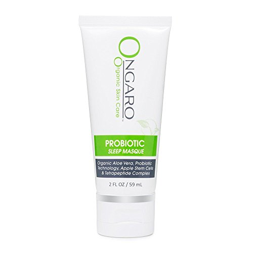 Ongaro Probiotic Sleep Masque  Facial Pore Minimizer  Firming   Toning While You Sleep With Probiotic Technology  Organic Aloe Vera  Apple Stem Cells  And Peptides  2Oz
