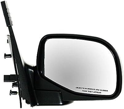 Mirror Glass 5.25 Inch Heated Blind Spot Passenger Right RH for Ford Explorer