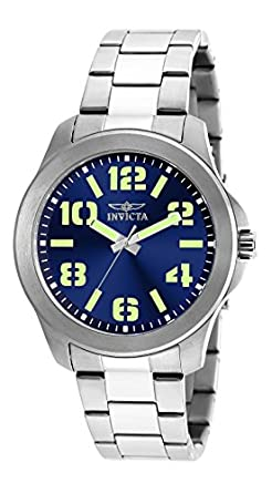 Invicta Analog Gold Dial Men's Watch - 9743