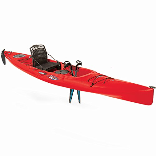 Hobie Mirage Revolution 16 Kayak – 2016 Red Hibiscus