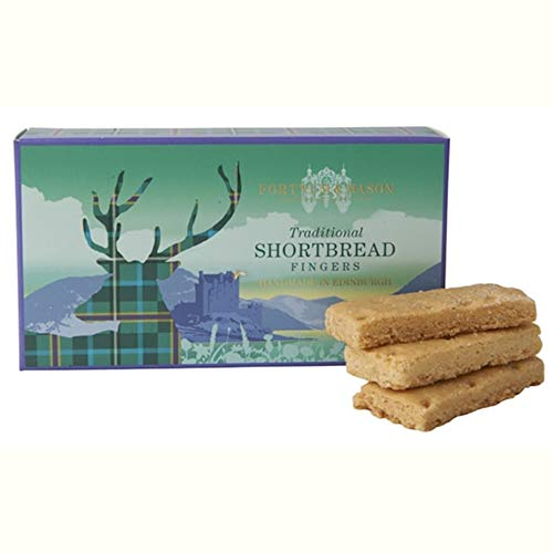 Fortnum & Mason London, Traditional Shortbread Fingers, 160g (1 Pack) - NEW - USA Stock