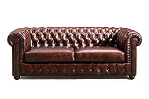 original chesterfield leather sofa by rose moore. Interior Design Ideas. Home Design Ideas