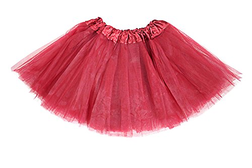 Girls Classic Elastic 3 Layered Tutu Ballet Soft Tulle Costume Skirt (2 - 9 Years, (Tap Dance Costume Halloween)