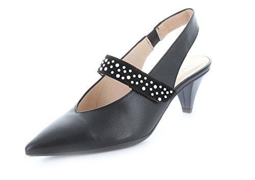 Hispanitas Zapatos de Vestir de Piel Lisa Para Mujer Negro Negro