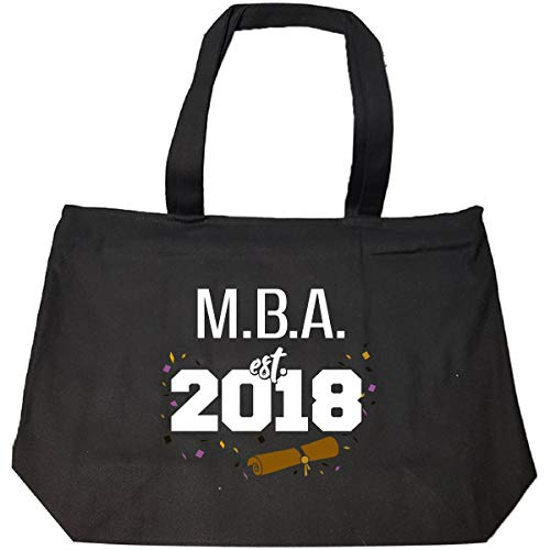 2018 M.b.a. Graduation Gift Degree Program Grad - Tote Bag With Zip