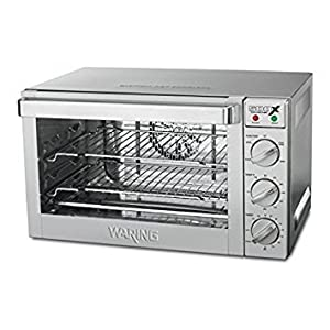 Waring Commercial WCO500X Half Size Pan Convection Oven, 120V, 5-15 Phase Plug