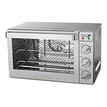 - Waring Commercial WCO500X 1/2-Sheet Pan Sized Convection Oven