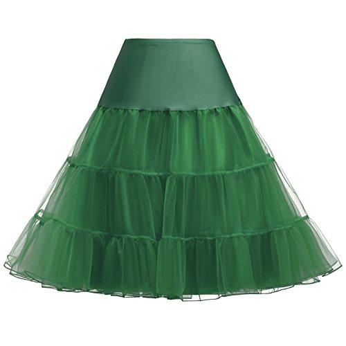 Fancy Women's 50's Rockabilly Dress Skirt Petticoats -