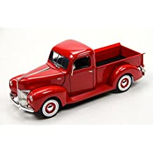 1940 Ford Pickup Truck, Red - Motormax 73170 - 1/18 scale Diecast Model Toy Car