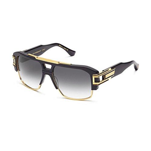 1c18f3538327a Dita Grandmaster Four 2060A 2060 A Black Swirl 18K Gold Fashion Sunglasses  58mm
