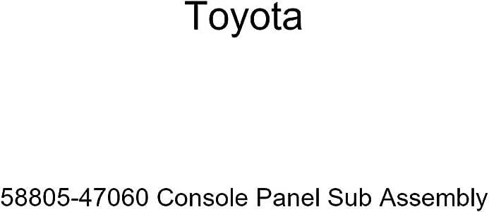 TOYOTA Genuine 58804-0C080-C0 Console Panel Sub Assembly