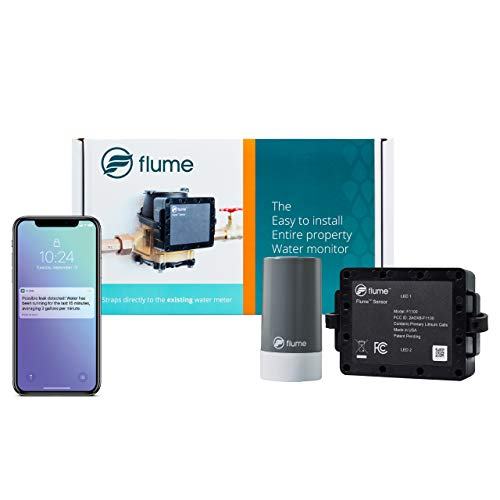 Amazon.com: Flume Smart Home Sensor de agua – Monitoriza el ...