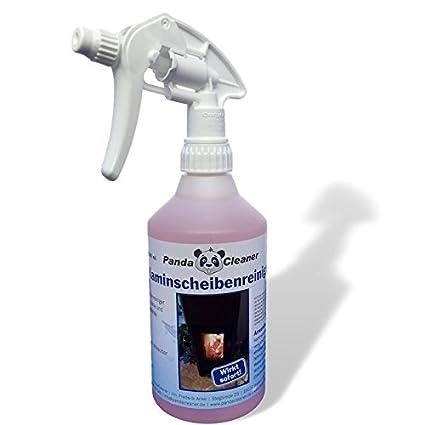 Panda Cleaner® Chimenea Discos limpiador 500 ml – Hollín Eliminador para chimenea y cristal de