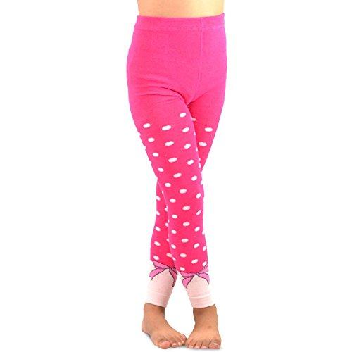 TeeHee Kids Girls Fashion Cotton Leggings 3 Pair Pack Naartjie Footless Tights