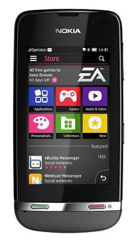 """Nokia Asha 311 - Móvil libre (pantalla táctil de 3"""", cámara 3.15 Mp"""