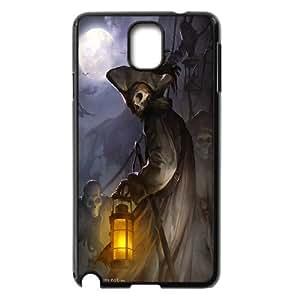 [QiongMai Phone Case] For Samsung Galaxy NOTE3 Case Cover -Skull Art-IKAI0446611