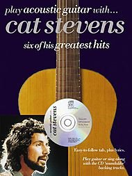 Music Sales Play Acoustic Guitar With Cat Stevens Book & (Cat Stevens Guitar Tab)