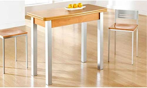 Amuebla 9250.Mesa DE Cocina DE 90 X 40 CM. Extensible DE Libro ...