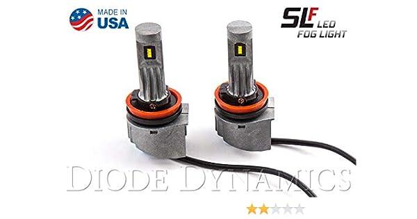 9005 SLF LED Cool White Pair Diode Dynamics