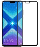 Huawei Honor 8X Full 3D Cover Tempered Glass Screen Protector - Black