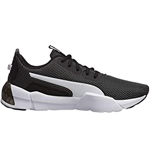 PUMA Men's Cell Phase Sneaker, Black White, 11 M US