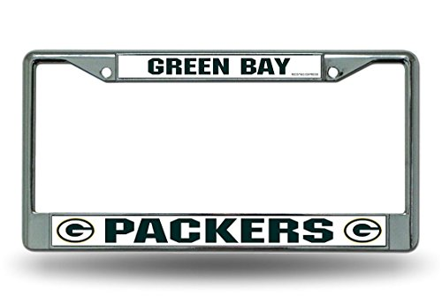 NFL Green Bay Packers Chrome Licensed Plate - New Jersey Outlet Stores