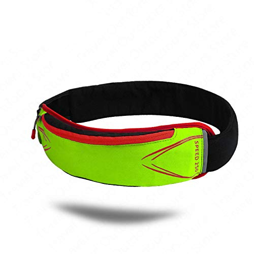 Only Shopping Can Heal Me Outdoor Running Sports Waist Pack Ultra-light Breathable Fit Waist Bag Phone Bag Marathon Running Cross-country Race,Yellow