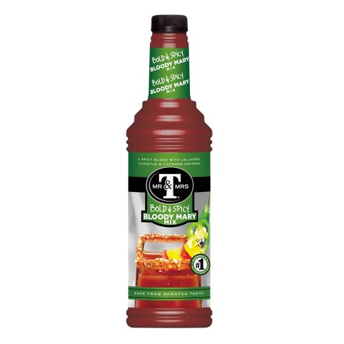 Mr. & Mrs. T Bold & Spicy Bloody Mary Mix, 1 Liter - Origin Mary Bloody