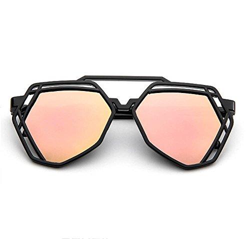 colorido sol de única talla DaoRier Rosa Gemstone Gafas Shape WnxXTR