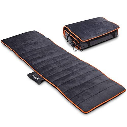 - BESTChoiceForYou Foldable Full Body Massage Mat 10 Vibrating Motors Heating Pad