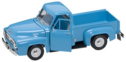 Road Signature 92148 Scale 1:18 1953 Ford F-100 Pick Up Vehicle, Light Blue