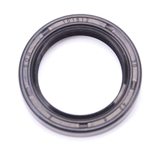 Seal 000 - Oil Seal 30X42X8 Oil Seal Grease Seal TC | 90043-10020-000 | D6201 | 90311-30005 | 91212-679-014 | 9-09924-451-0 | I3563|EAI Rubber Double Lip w/Garter Spring 30mmX42mmX8mm | 1.181