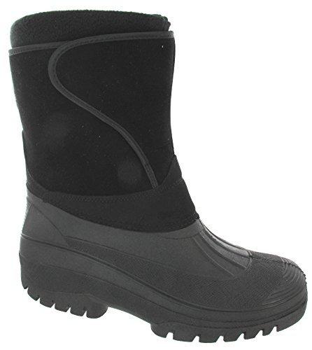 Mucker Pelz Herren Wasserdicht Warm Schnee Thermo Stiefel F3TKJlc1