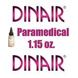 DINAIR PARAMEDICAL MAKEUP - COVER ACNE, ROSACEA, SCARS, PSORIASIS, TATTOO, FACELIFT - GOLDEN OLIVE - 1.15 oz.
