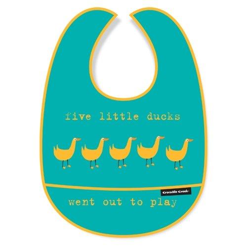 Five Little Ducks Bib