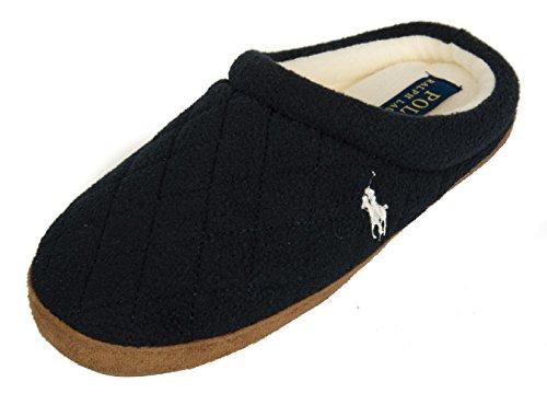 Seã±ora Mujer Navy Ralph Zapatilla 992756 Jacque Quilt Scuff Homewear De Artãculo Lauren Polo I6xawI