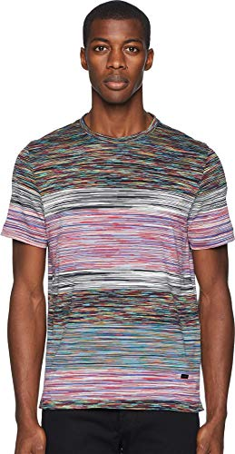 (Missoni Men's Fiammato Jersey T-Shirt Multi X-Large)