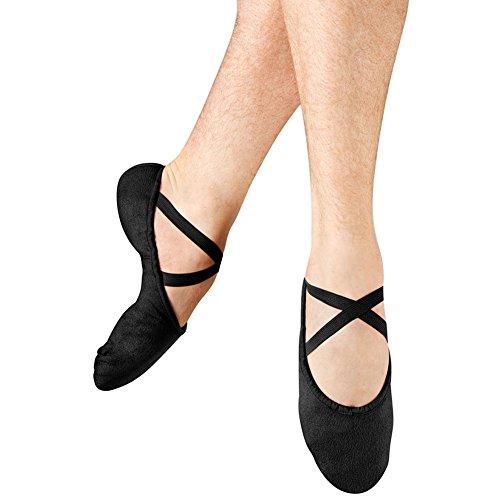 Bloch Femme Pompe Dance Chaussure Noir