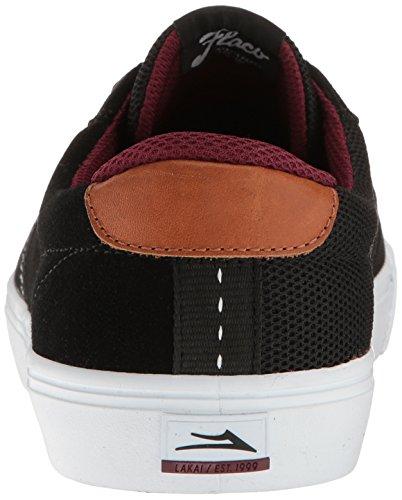 Lakai Mens Chaussures De Skate Flaco Noir / Blanc Daim