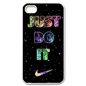 LVCPA Cool Just DO it Brand Logo Lightweight Back Case Cover for iphone 4 - Printed Case Customized Cover Phone Case - CPCTP_4_38(4.16)