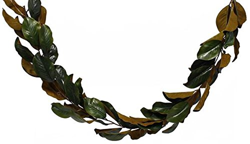 - BD Crafts Artificial Magnolia Leaf Garland 6ft Long