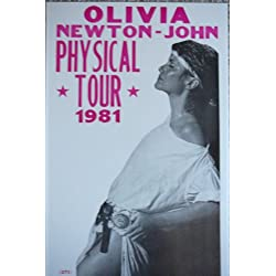 "Olivia Newton John ""Physical"" Tour 1981 Poster"
