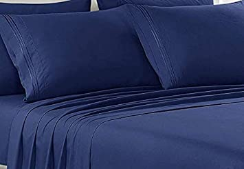 1800 Count 6 Piece Egyptian Comfort Hotel Luxury Bed Sheets set