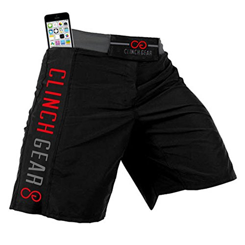 Clinch Gear Crossover 3 PREMIUM Cross-Training Shorts MMA Grappling Fight Shorts – DiZiSports Store